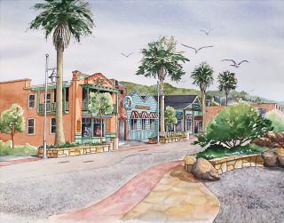 Avila Beach Plaza - Janet Payne