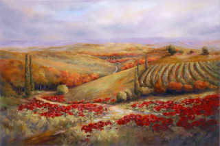Fall Vineyard - Janet Payne