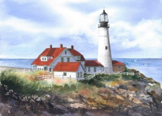 Portland Head Lighthouse - Janet Payne