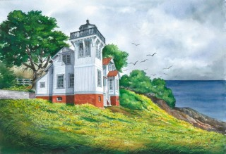 San Luis Bay Lighthouse - Janet Payne