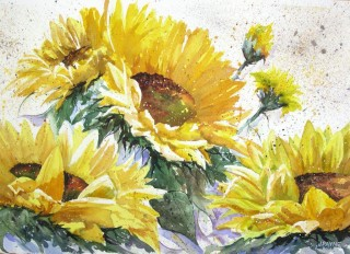 Sunflowers - Janet Payne