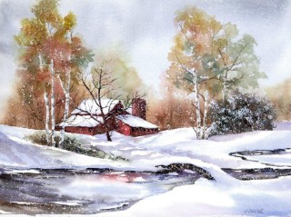 Red Red Barn - Janet Payne